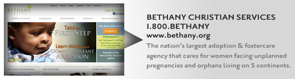 Bethany - The Nation's Largest Adoption Agency
