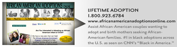 The #1 placement agency for black adoptions