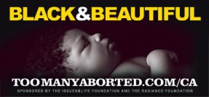 """Black & Beautiful"" billboard by The Radiance Foundation"