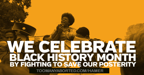 Celebrating Fannie Lou Hamer: Black Prolife Civil Rights Leader