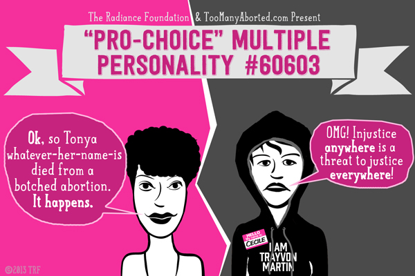 The Multiple Personality Disorder of Prochoice Activism Part 2