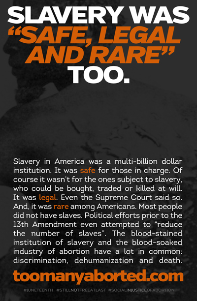 """""""SLAVERY WAS SAFE, LEGAL & RARE"""" by The Radiance Foundation"""