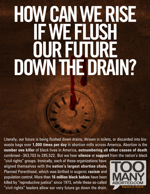 """Down the Drain"" by TooManyAborted.com"