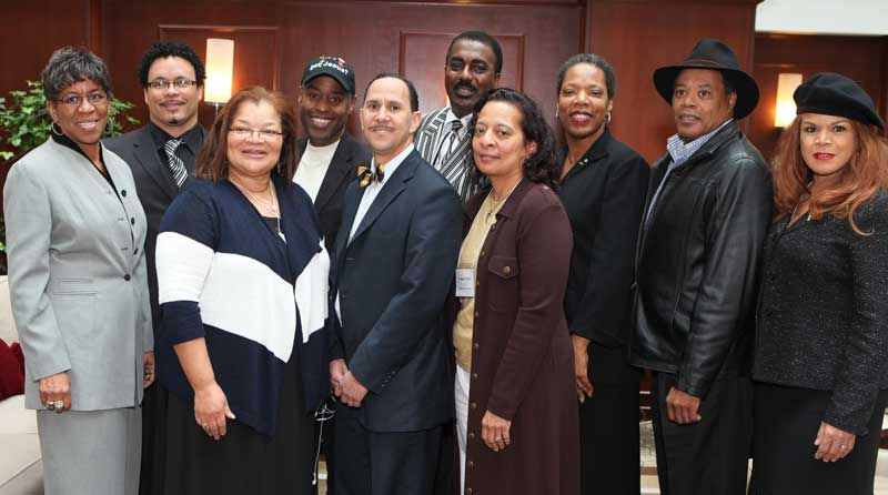 Ryan Bomberger and members of the National Black Prolife Coalition